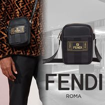 FENDI Stripes Messenger & Shoulder Bags