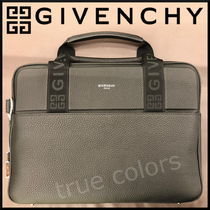 GIVENCHY Blended Fabrics A4 2WAY Leather Business & Briefcases
