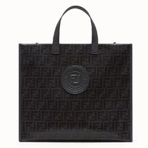 FENDI 2WAY Logo Totes
