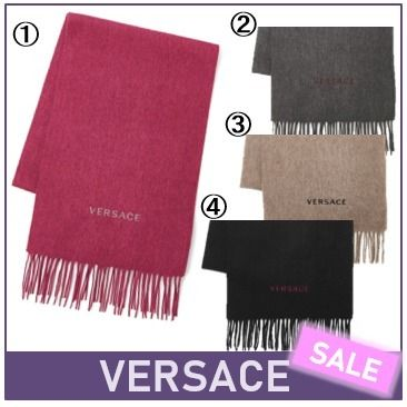 Wool Plain Fringes Heavy Scarves & Shawls