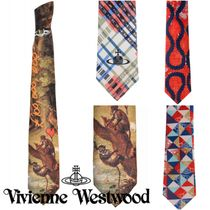 Vivienne Westwood Other Check Patterns Silk Other Animal Patterns Ties