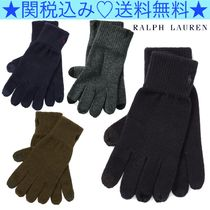 Ralph Lauren Plain Cotton Smartphone Use Gloves