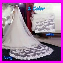 Flower Patterns Blended Fabrics Lace Wedding Jewelry
