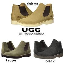 UGG Australia Suede Street Style Plain Chelsea Boots Chelsea Boots