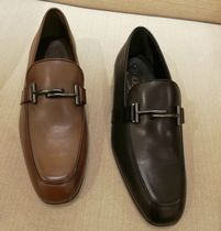 TOD'S Plain Leather U Tips Oxfords