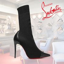 Christian Louboutin Casual Style Bi-color Leather Ankle & Booties Boots