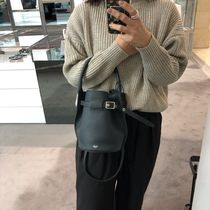CELINE Big Bag Calfskin Plain Totes