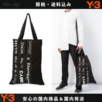 Y-3 Street Style Totes