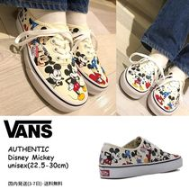 VANS AUTHENTIC Unisex Street Style Collaboration Sneakers