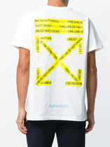 Off-White More T-Shirts Unisex Street Style Cotton T-Shirts 7