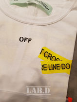 Off-White More T-Shirts Unisex Street Style Cotton T-Shirts 10