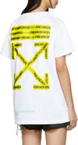 Off-White Unisex Street Style Cotton T-Shirts