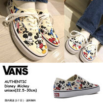 VANS AUTHENTIC Casual Style Unisex Street Style Collaboration