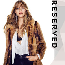RESERVED Faux Fur Plain Other Animal Patterns Long