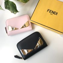 FENDI Leather Long Wallet  Coin Cases