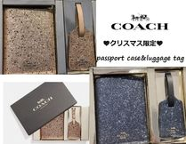 Coach Special Edition Passport Cases
