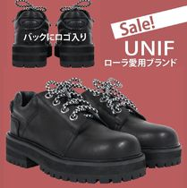 UNIF Clothing Round Toe Plain Shoes