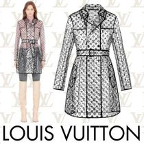 Louis Vuitton MONOGRAM Monogram Long Elegant Style Coats