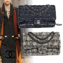 CHANEL 2WAY Chain Elegant Style Shoulder Bags