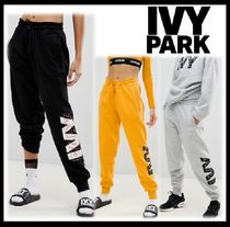 IVY PARK Casual Style Sweat Street Style Plain Long Sweatpants