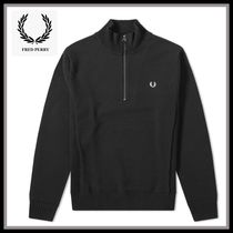 FRED PERRY Low Gauge Long Sleeves Cotton Vests & Gillets
