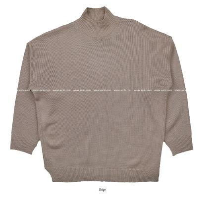 ASCLO Knits & Sweaters Street Style Collaboration Long Sleeves Plain 13
