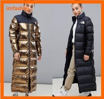 THE NORTH FACE Street Style Plain Long Down Jackets