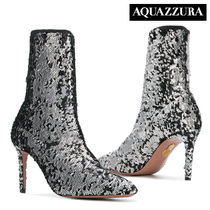Aquazzura Pin Heels PVC Clothing Elegant Style Ankle & Booties Boots