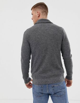 Hollister Co. Cardigans Street Style Long Sleeves Plain Cotton Cardigans 4