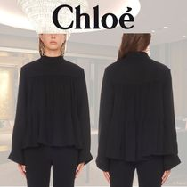 Chloe Long Sleeves Shirts & Blouses