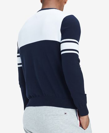 Tommy Hilfiger Knits & Sweaters Stripes Street Style Long Sleeves Cotton Knits & Sweaters 2