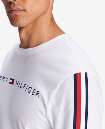 Tommy Hilfiger Sweatshirts Crew Neck Street Style Long Sleeves Cotton Sweatshirts 3