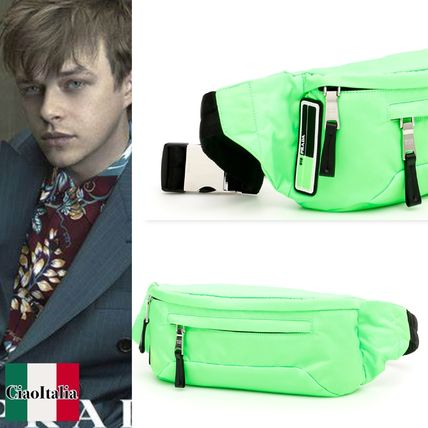 31ad1aa5cf21 PRADA 2019 SS Messenger   Shoulder Bags (NYLON BELTBAG WITH LOGO ...