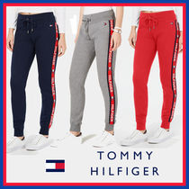 Tommy Hilfiger Casual Style Street Style Plain Cotton Long Bottoms