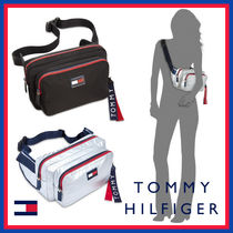 Tommy Hilfiger Star Casual Style Blended Fabrics Shoulder Bags