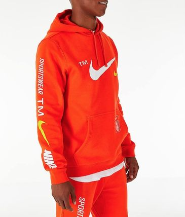 Nike Hoodies Street Style Collaboration Hoodies 10
