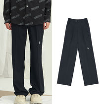 13MONTH Slax Pants Unisex Plain Oversized Slacks Pants