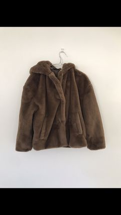 Short Faux Fur Coats