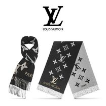 Louis Vuitton Cashmere Studded Heavy Scarves & Shawls