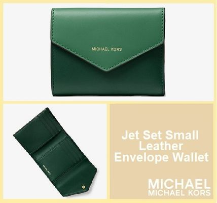 ef6fe2a267c9e ... Michael Kors Folding Wallets Bi-color Plain Leather Folding Wallets ...