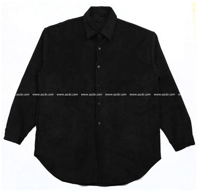 ASCLO Shirts Corduroy Street Style Collaboration Long Sleeves Plain 15