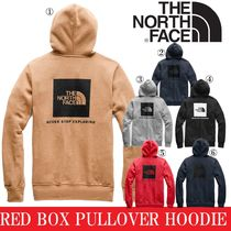 THE NORTH FACE Unisex Suede Street Style Long Sleeves Plain Hoodies