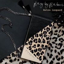 MrH Leopard Patterns Chain Smart Phone Cases