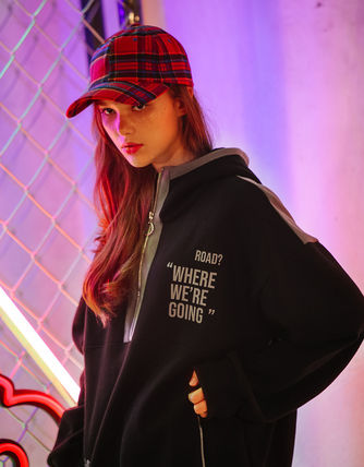 TWN Hoodies Pullovers Unisex Street Style Long Sleeves Cotton Oversized 7