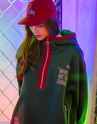 TWN Hoodies Pullovers Unisex Street Style Long Sleeves Cotton Oversized 8