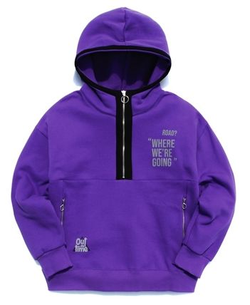 TWN Hoodies Pullovers Unisex Street Style Long Sleeves Cotton Oversized 14