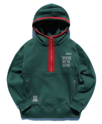 TWN Hoodies Pullovers Unisex Street Style Long Sleeves Cotton Oversized 18