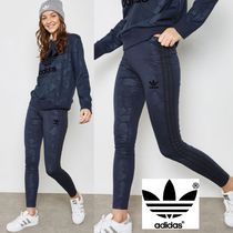 adidas Camouflage Street Style Cotton Leggings Pants