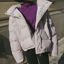Short Casual Style Plain Down Jackets