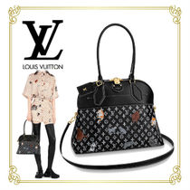 Louis Vuitton MONOGRAM Monogram Other Animal Patterns Leather Handbags